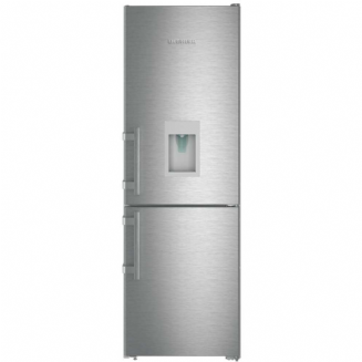 LIEBHERR CNEF3535 Comfort freestanding fridge freezer with  a 3 drawer freezer and a water dispenser